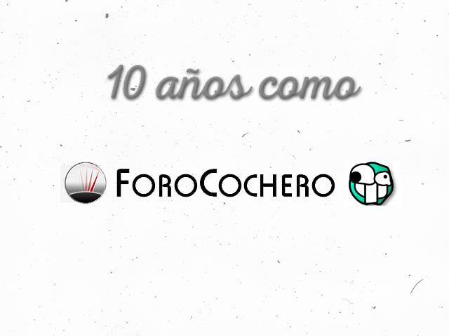 10 años como Forocochero