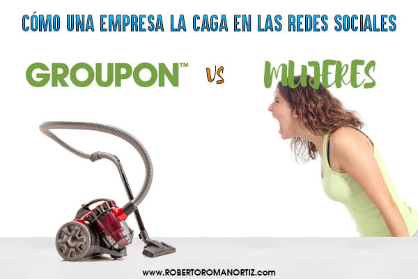 Groupon vs Mujeres