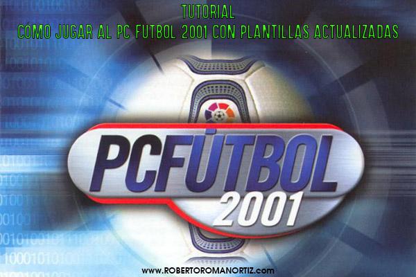 Imagen tutorial PC Futbol 2001 plantillas actualizadas 10