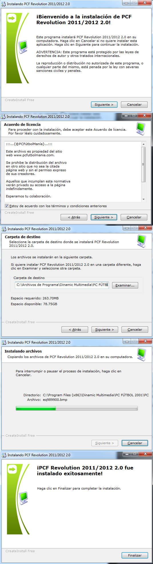 Imagen tutorial PC Futbol 2001 plantillas actualizadas 07