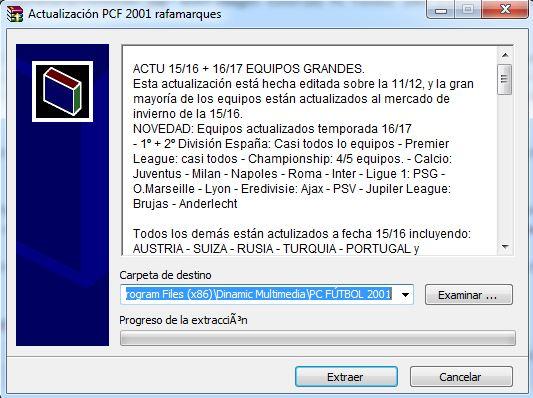 Imagen tutorial PC Futbol 2001 plantillas actualizadas 09