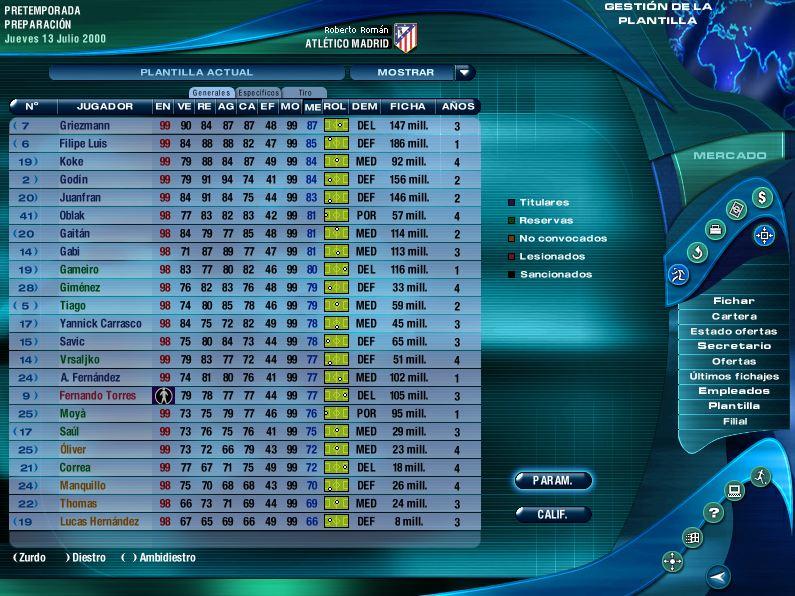 Imagen tutorial PC Futbol 2001 plantillas actualizadas 12