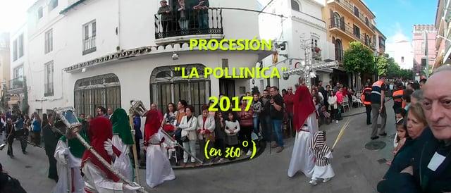 La procesión del Domingo de Ramos de Marbella en 360º