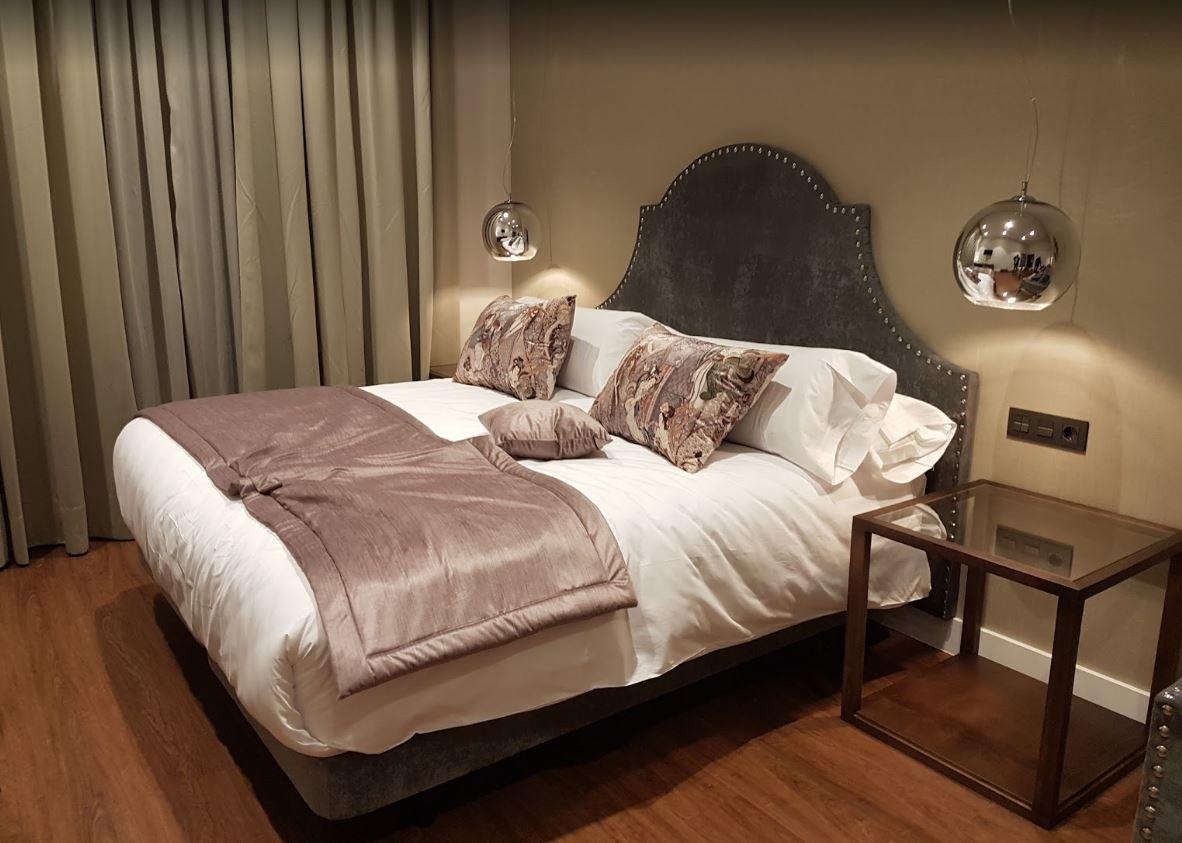 Habitación del Hotel Palacete de Álamos