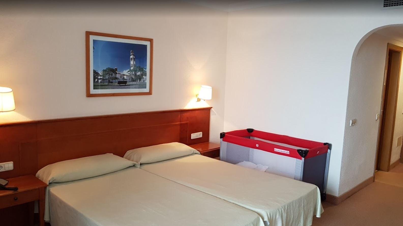 Habitación del Hotel Blue Sea Interpalace