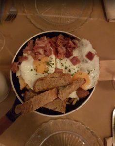 Huevos revueltos en Noviembre Healthy Food