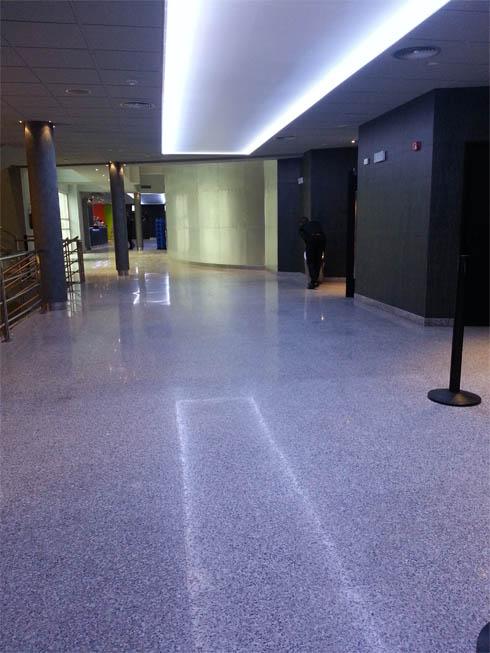Hall de los cines Teatro Goya