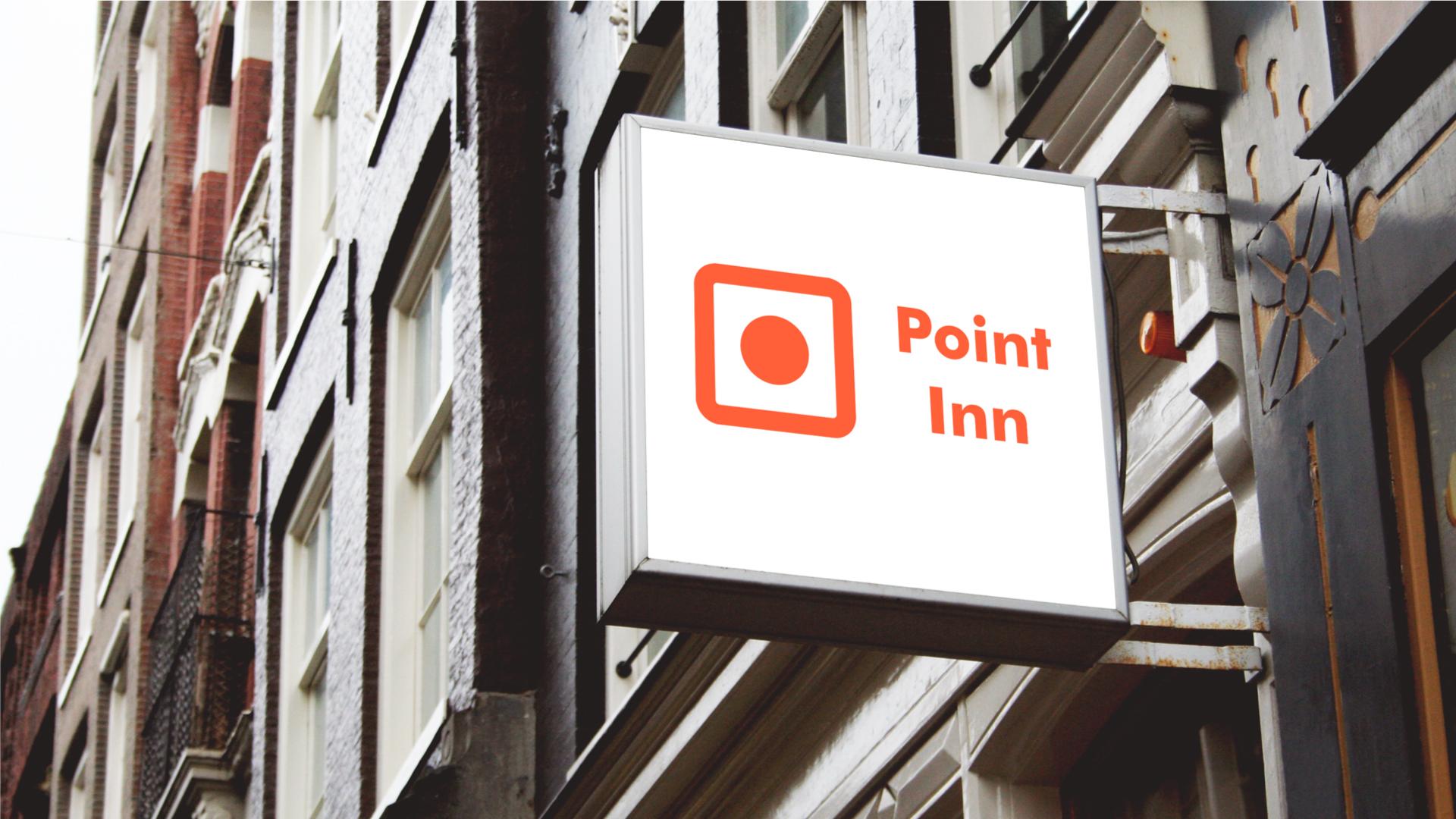 Manual de identidad corporativa 'Point Inn'