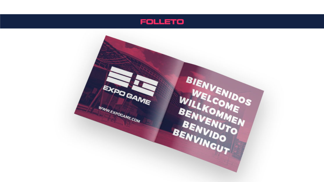 Folleto Expo Game
